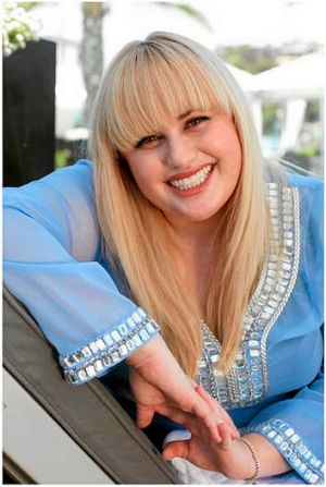 Actress Rebel Wilson.
