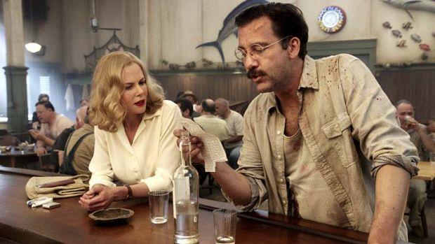 More than a muse ... Nicole Kidman and Clive Owen in <em>Hemingway & Gellhorn</em>.