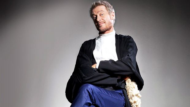 Richard Roxburgh stars as mischievous barrister Cleaver Greene.