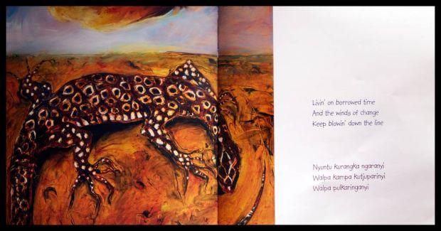 Artwork in the book Solid Rock.