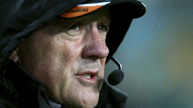 Soon to know his fate ... Tim Sheens.