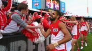 Swans shock Crows in qualifying final (Video Thumbnail)