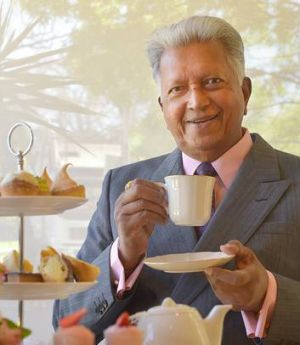 Dilmah Tea aficionado Merrill J. Fernando says Australians are wrong on high tea.