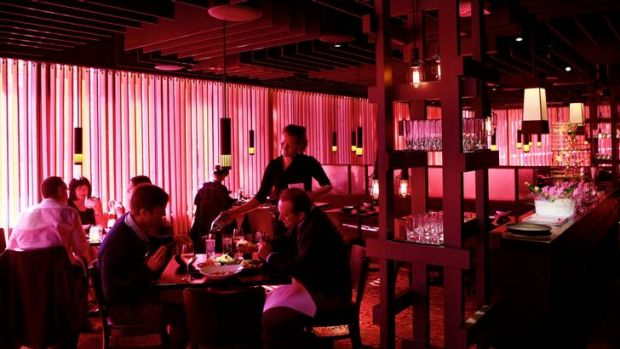 After establishing Rockpool Bar & Grill, Perry opened Spice Temple in 2010.