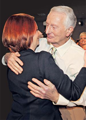 Julia Gillard: 'I will miss him for the rest of my life.'