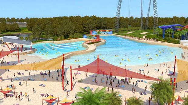Bigger, brasher ... Wet'n'Wild Sydney will rival the Gold Coast original.