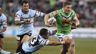 Canberra smashes Cronulla (Video Thumbnail)