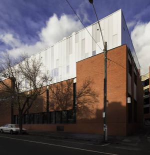 RMIT University's advanced manufacturing precinct occupies a revamped red-brick factory.