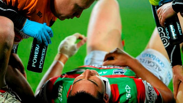 Wounded Rabbits … South Sydney face an anxious week awaiting medical reports on several stars injured in their ...