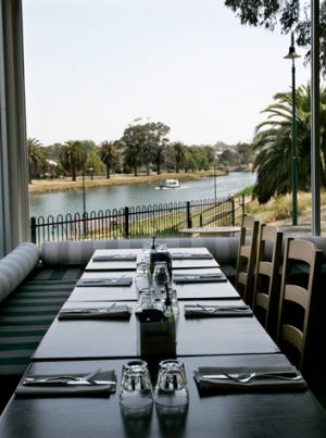 The Boathouse restaurant at Moonee Ponds.