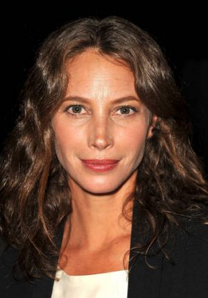Model Christy Turlington attending the Rag & Bone Women's Collection fashion show during Mercedes-Benz Fashion Week on ...