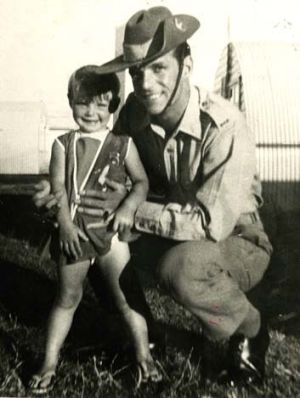 Cheryl with her father, Vince.