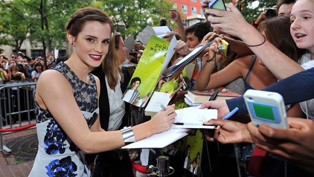 Emma Watson ... used to lure in unsuspecting victims online.
