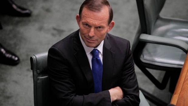 """""""It's in our DNA"""" ... Tony Abbott."""