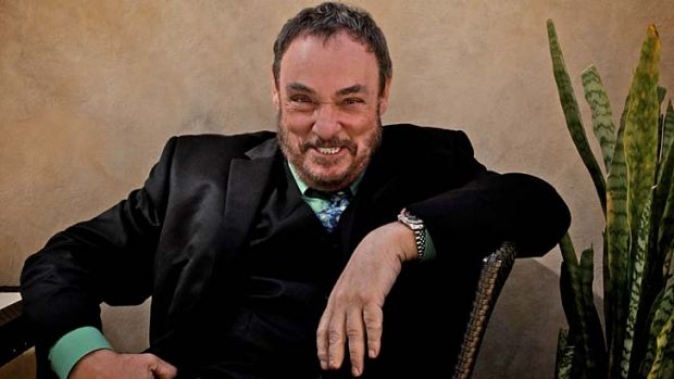 Promotional tour … John Rhys-Davies in his Sydney hotel.