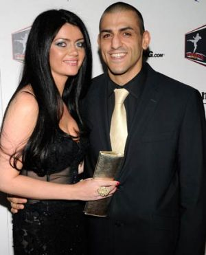 George Sotiropoulos with his wife, Cliona. They met shortly after Sotiropoulos competed on the sixth season of The ...