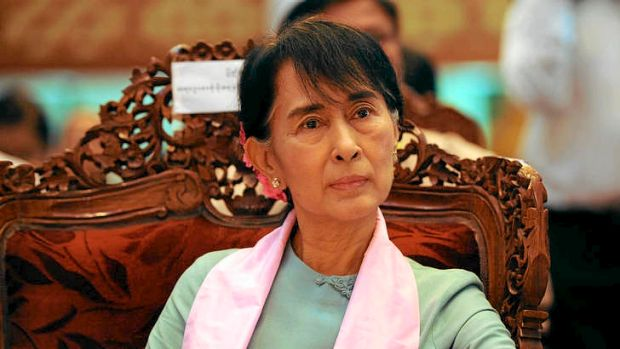 On the eve of a visit to the US to accept Washington's highest honour, Aung San Suu Kyi faces accusations of having ...
