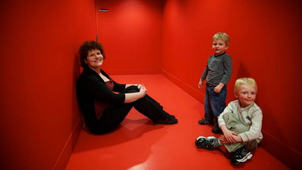 Mother Stephanie Baker says acquiring diagnoses for her sons Robert, 5, and Hamish, 3, who both suffer from disorders on ...