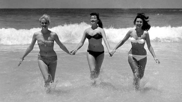 The good old (hairier) days: Bikini lines were rarely tampered with when swimsuits were less revealing - as in the '60s. ...