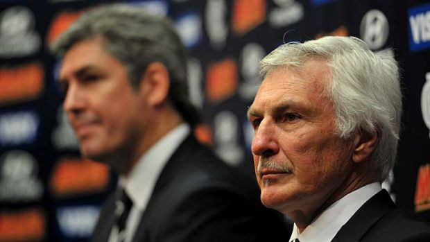 Mick Malthouse: 'All I see is the road in front of me'.