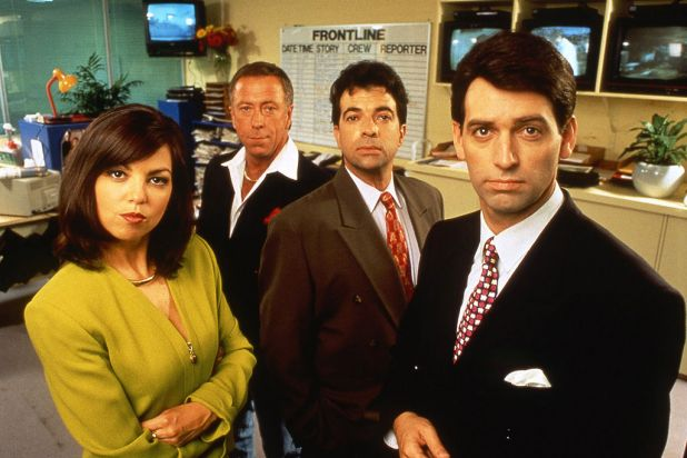 7. <i>Frontline</i> was Working Dog's satire about a current affairs program.