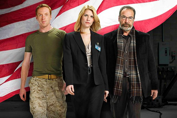 10. Impressively, <i>Homeland</i> made the list after just one season. The keenly awaited second season is due shortly.