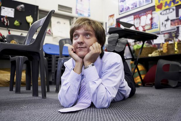 16. Chris Lilley took on three characters in <i>Summer Heights High</i>, including deluded drama teacher Mr G.