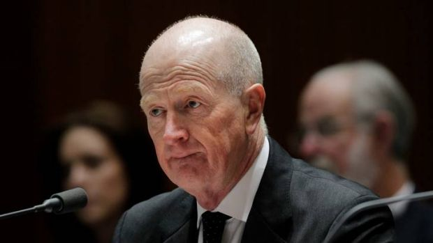 Reserve Bank governor Glenn Stevens was the direct boss of the chief auditor who reported on banknote companies during ...