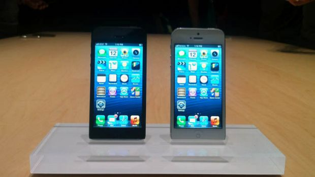 The new iPhone 5.