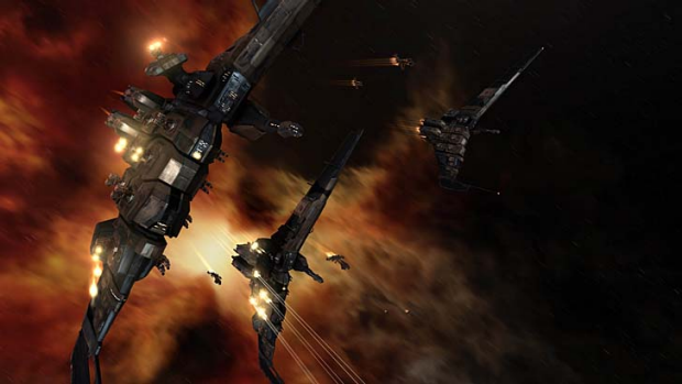 """A screenshot from the game """"EVE Online""""."""