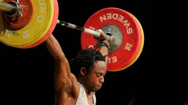 Controversial weightlifter Daniel Koum.