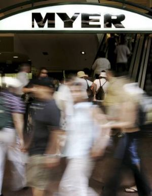 Blurry: Myer has not revealed an earnings target.