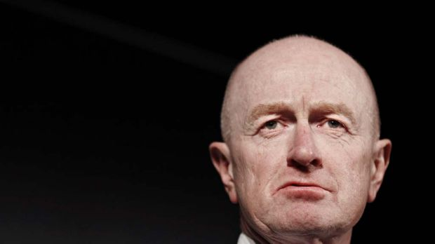 Facing increasing pressure to explain himself ... Glenn Stevens.