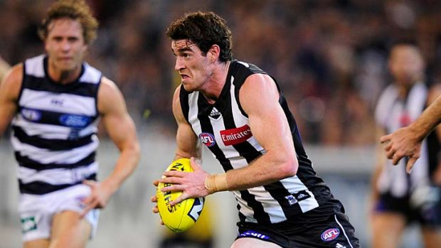 Recalled .... Tyson Goldsack is one of two inclusions for Collingwood.