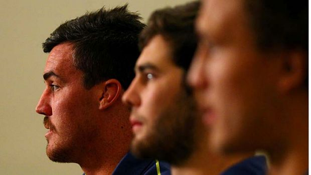 Kane Douglas ... one of several new faces in the Wallabies' squad.