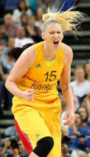 Capitals recruit Lauren Jackson during the 2012 Olympics.