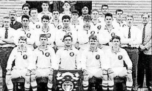 Where is he? ... Can you spot Souths coach Michael Maguire in this photo of Canberra's St Edmond's College under-16 B ...