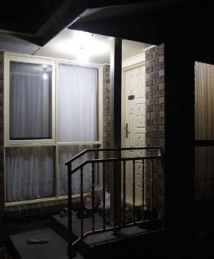 The property belonging to Sheikh Harun in Springvale South.