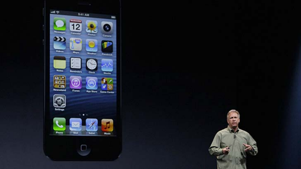 """""""We think this is the ideal size"""" ... Phil Schiller, Apple."""