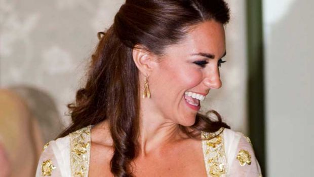 The Duchess of Cambridge dazzled in Alexander McQueen at the Malaysian state dinner.