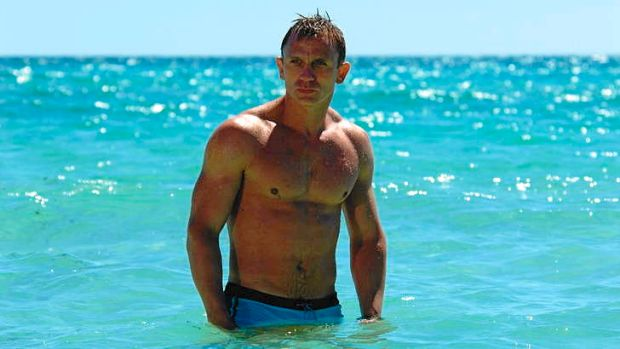 Auction hero: 007 memorabilia, including trunks worn by Daniel Craig in <i> Casino Royale</i> , will be auctioned for ...