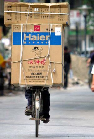 Clean start ... China's Haier has moved to buy New Zealand's Fisher & Paykel and move into the wealthier world markets.