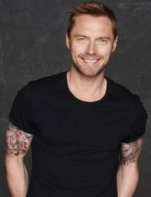 """""""I learnt a lot from last year's show and know what I did right"""" ... Ronan Keating."""