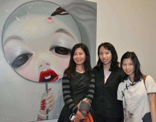 Go Figure! Contemporary Chinese Portraiture at the National Portrait Gallery. Ying Qian, Sue Chen and Nancy Chiu.