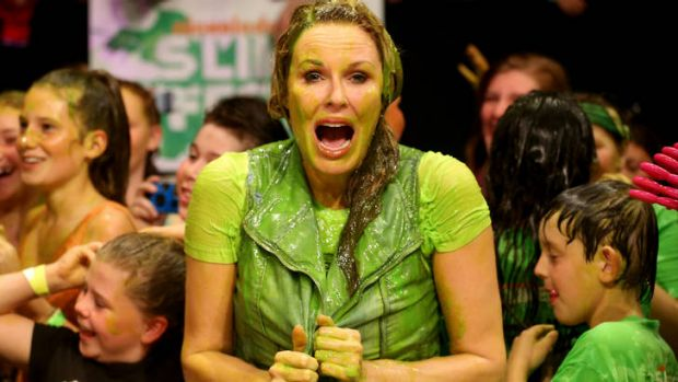 Charlotte Dawson gets slimed.