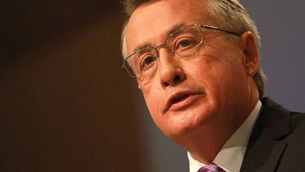 Wayne Swan ... rejects Bernie Fraser's comments.