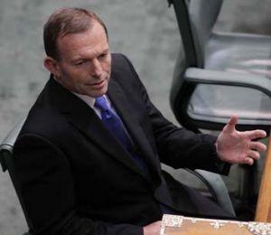 Record lows ... Tony Abbott.