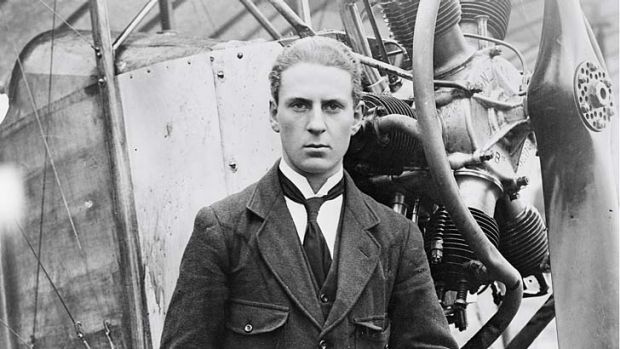 Alex Little, Australian World War I fighter pilot.