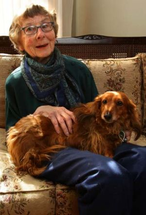 Pam Berttell - at home in Elwood - is one of the last living links to Alex Little.