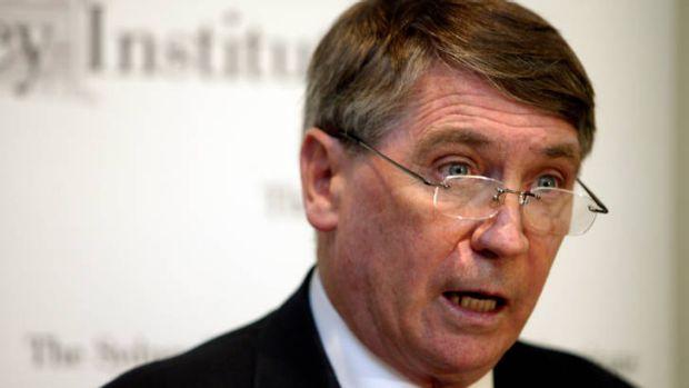 Foreign Affairs chief Dennis Richardson.